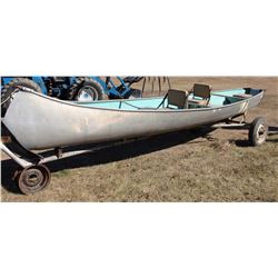 19' Princecraft 4 Seater Boat With Homemade Trailer