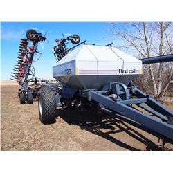 "Flexicoil 1720 Tank 39' 9"" spacings Flexicoil 5000 Cultivator Cameras in tank and back to see cultiv"