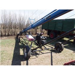 Brandt Wheatheart 850 Auger 50' With Mover, LX990 Engine