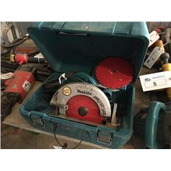 MAKITA 500 7FA CIRCULAR SAW WITH CASE