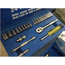 6 ASSORTED SOCKET SETS