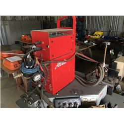 ARC AIR MODEL CONTRACTOR TITAN N-6000 PKG CARRIAGE PIPE WELDER WITH TRACKS