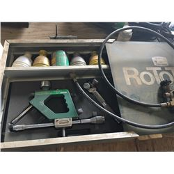 ROTOTEC MODEL 1 SPRAY GUN