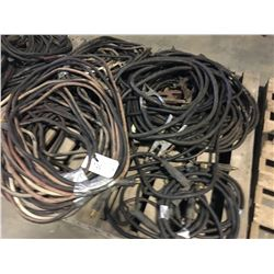 PALLET OF WELDING CABLE AND STINGERS