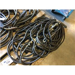 LOT OF WELDING CABLE