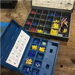 LOT OF ASSORTED ELECTRICAL TERMINALS