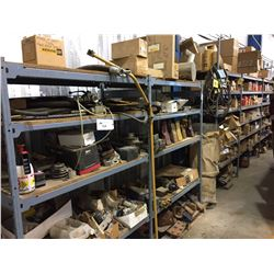 5 SECTIONS OF SHELVING