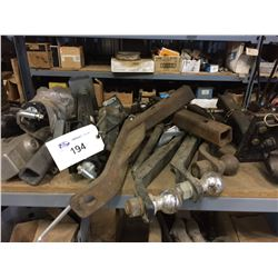 LOT OF TRAILER HITCHES