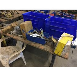 LOT OF MISC. TOOLS, PARTS AND MORE