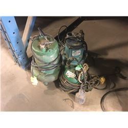 3 ELECTRIC SEWAGE PUMPS