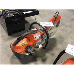 STIHL TS-420 GAS CHOP SAW, WITH NEW DIAMOND BLADE