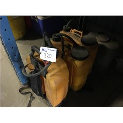 LOT OF BACKPACK SPRAYERS