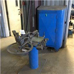 HOSSFELD MODEL #2 UNIVERSAL BENDER AND STORAGE AND ACCESSORIES