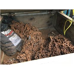 CRATE OF TIRE CHAINS