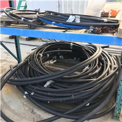 LOT OF ASSORTED PLASTIC PIPE