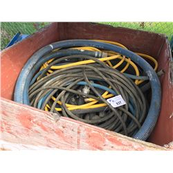 CRATE OF ASSORTED HOSE