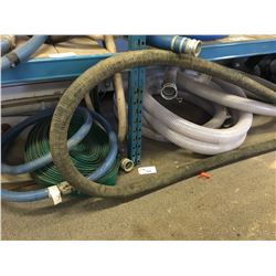 LOT OF ASSORTED HARD WATER HOSE