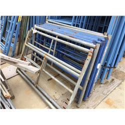 LOT OF HALF HEIGHT SCAFFOLD FRAMES