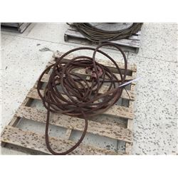 PALLET OF WIRE SLINGS