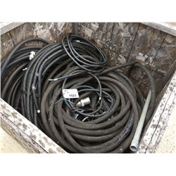 CRATE OF ELECTRICAL WIRE