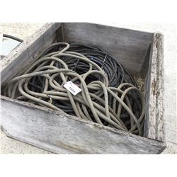 CRATE OF HOSE