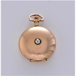 Antique Rare 56 14K Gold, 0.585 Pocket Watch With