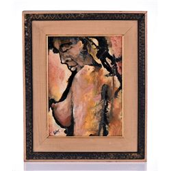 Gilbert, Signed, Mid Century Modern,  Abstract Nude