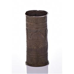 Middle Eastern Trench Art Shell Casing.