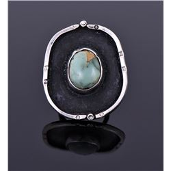 Navajo Southwest Green Turquoise Ring