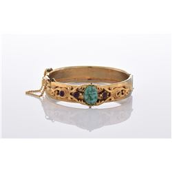 Vintage Yellow Gold Tone/Plated Bracelet.