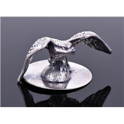 Antique Sterling Silver Eagle Ornament, Weighing 1