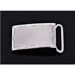 Anson Sterling Silver Belt Buckle.