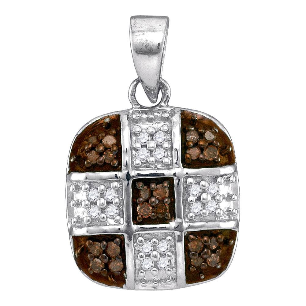 cross tiny square gold jewellery anma yellow pendant solid diamond product