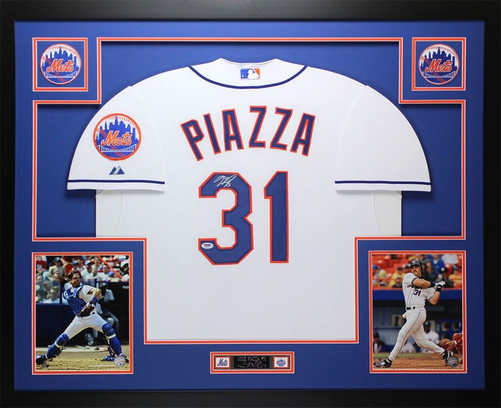 Mike Piazza Signed Mets 35\