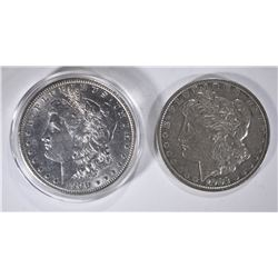 1900 AU & 1902 XF MORGAN DOLLARS