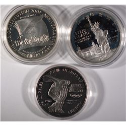 (3) Commemoratives without Original Boxes