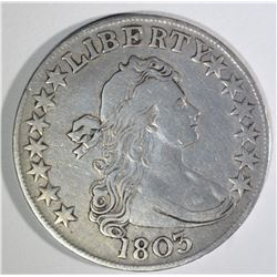 1803 DRAPED BUST HALF DOLLAR  XF