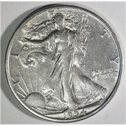 1934-S WALKING LIBERTY HALF DOLLAR