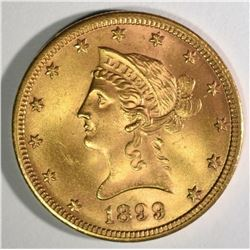 1899 $10 GOLD LIBERTY  GEM BU