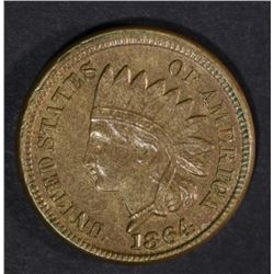 1864 INDIAN HEAD CENT  UNC