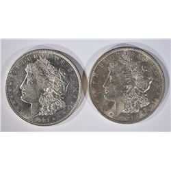 1921 P & D MORGAN SILVER DOLLARS