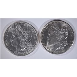 1900 & 1902 MORGAN DOLLARS