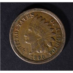 1863 INDIAN HEAD CENT AU