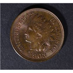 1903 INDIAN HEAD CENT CHBU