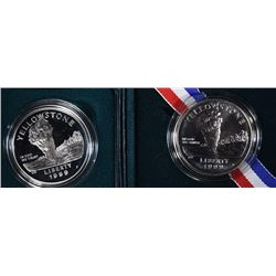 1999 Yellowstone Silver Commemoratives Sets