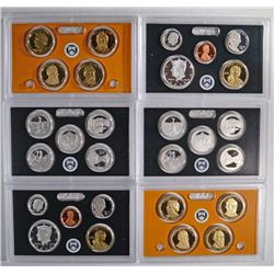 (2) 2011 United States Mint Silver Proof Set.