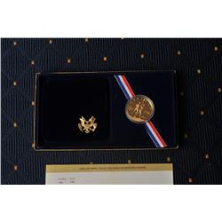 18FW-1 1984D OLYMPIC COIN