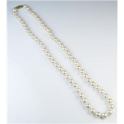 18CAI-44 IVORY CULTURED PEARLS