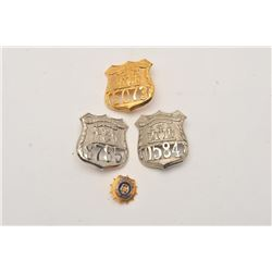 18DC-22E BADGE LOT