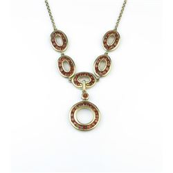18CAI-49 GARNET NECKLACE